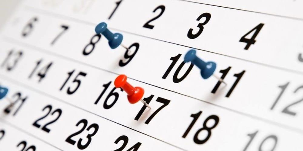 calendario riunioni